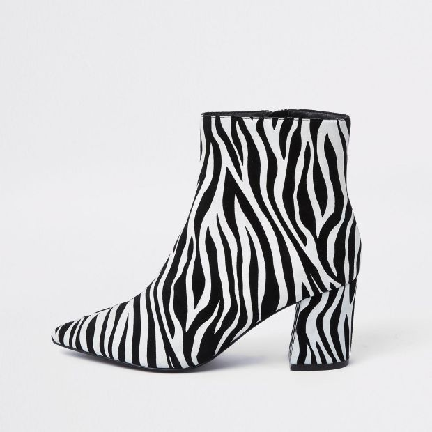 Black and white boot, River Island €87