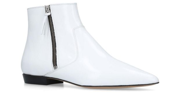 Dawie - white boot with side zip by Isabel Marant €470 at Brown Thomas