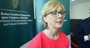 "Minister for Employment Affairs and Social Protection Regina Doherty said ""good progress"" was being made preparing for the reviews of pensions announced by the Government earlier this year. Photograph: Cyril Byrne"