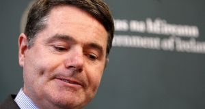 Minister for Finance  Paschal Donohoe: he  has already set out the narrow parameters of the budget