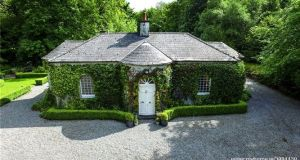 On the market for €225,000 in Co. Longford, the new owner of this former gate lodge will have to pay €465 in property tax next year