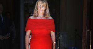 Cian O'Carroll paid tribute to Emma Mhic Mhathúna saying she thought everything through, including wearing a red dress to the High Court on the day of her settlement. File photograph:  Collins Courts