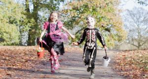 Halloween: there are lots of adventures, both inside and out, to keep the whole family entertained. Photograph: Ojo/Getty