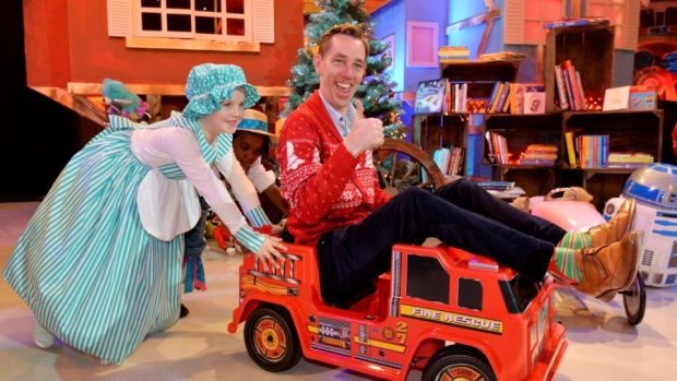 The Late Late Toy Show: Christmas-jumper-clad host Ryan Tubridy. Photograph: Alan Betson