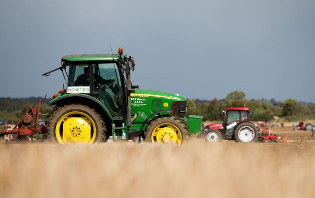 Ploughing championships: the annual agricultural knees-up. Photograph: Tom Honan
