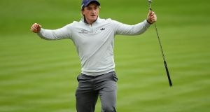 "Paul Dunne: ""It's a big event at a great time of the year, just before the end of the season . . .there is a lot on the line. Photograph: Ross Kinnaird/Getty Images"