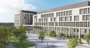 Minister for Health Simon Harris has reiterated his commitment to the development of the new €300 million National Maternity Hospital on the St Vincent's site at Elm Park in Dublin.