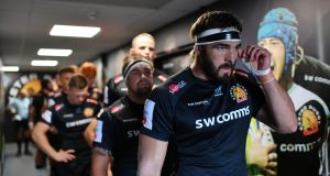 The summit of Exeter's European  achievements in five campaigns has been one quarter-final three seasons ago. Photograph: Dan Mullan/Getty Images