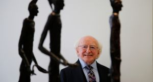 "President Michael D Higgins: He believes it's a ""myth"" that he had an easier campaign than others in 2011 and says his long experience means he might be tougher than his rivals.   Photograph: Nick Bradshaw/The Irish Times"