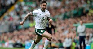 Sean Maguire: The Republic of Ireland striker returned to action with Preston North End after a long lay-off with a  hamstring injury. INPHO/Ryan Byrne