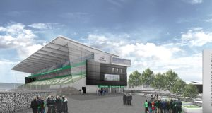A view of the proposed redeveloped Sportsground. Photograph: Connacht Rugby