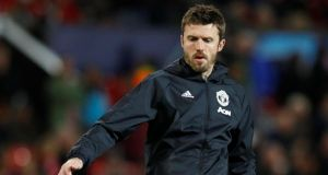 Michael Carrick is now a coach at Manchester United. Photograph: Phil Noble/Reuters