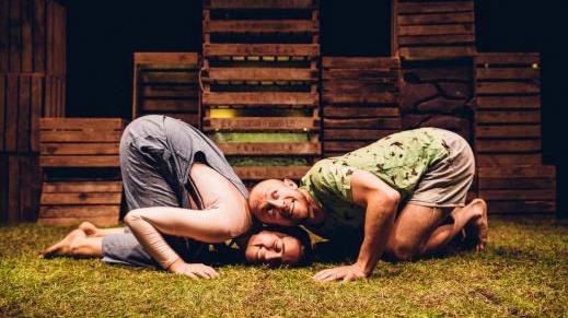 'Grass' presented by Second Hand Dance Company. Photograph: Brian Hartley