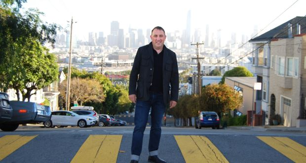 """Seamus McAteer in San Francisco:  """"It's not a place you want to move to, unless you are very serious about working in the tech sector. It's not as diverse as it once was which is a shame."""""""