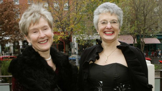 "The late Ann Louise Gilligan and Katherine Zappone in 2005: ""You have to come out to yourself before you come out to someone else. This is the most important advice,"" says Zappone. Photograph: David Sleator"