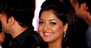 Bollywood actor Tanushree Dutta: alleges she was sexually harassed by Nana Patekar in 2008. Photograph: Getty Images