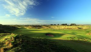 The green on the par 3, 12th hole at Portmarnock Golf Club,  Co Dublin. Photograph:   David Cannon, Getty