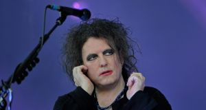 Robert Smith of The Cure: Photograph:  Didier Messens/Redferns/ Getty Images