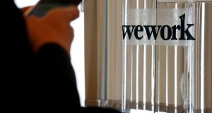 WeWork's prospects have been treated with scepticism by some Silicon Valley investors who see the company as an overvalued real estate play vulnerable to a property market downturn. Photograph: Bobby Yip/Reuters