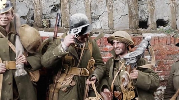 First World War footage brought to life by Peter Jackson