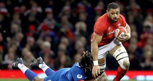 Taulupe Faletau is a major doubt for Wales's November internationals with a broken arm. Photograph: Tommy Dickson/Inpho