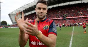 Conor Murray after Munster's 20-19 Champions Cup quarter-final win over Toulon. Photograph: Dan Sheridan/Inpho