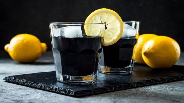 Charcoal lemonade is a brand new – to us – fad, and the charcoal is said to brighten skin and teeth and cleanse organs