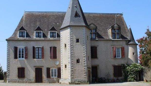 France: this compact chateau comes with 2.5 acres of garden, a saltwater swimming pool and two barns