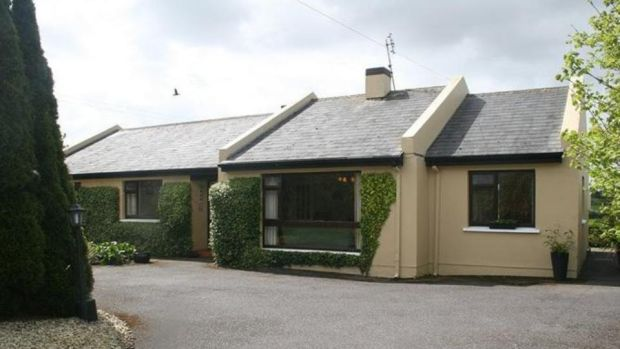 Co Cork: this four-bedroom, two-bathroom bungalow is in Carberytown