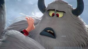 Channing Tatum voices Migo, the  star character in Smallfoot