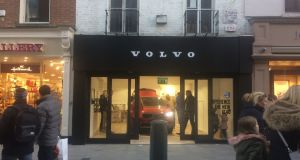 "Most recently, Volvo launched the new XC40 with a ""pop-up"" shop on Dublin's busy Grafton Street ."
