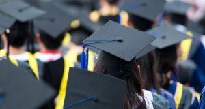 Women remain under represented in the senior ranks of universities. Photograph: Getty Images