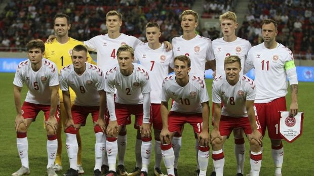 Denmark's ragtag group of players pulled together for their friendly against Slovakia were soundly beaten 3-0.