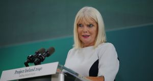 Minister of State for higher education Mary Mitchell O'Connor said colleges had a long way to go to achieve gender equality. Photograph: Nick Bradshaw