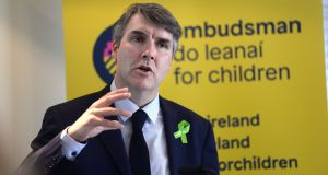 "Dr  Niall Muldoon, Ombudsman for Children, said  we are now the fourth or fifth richest country in Europe, ""and we can't provide for families"".  File photograph: Dara Mac Dónaill/ The Irish Times"