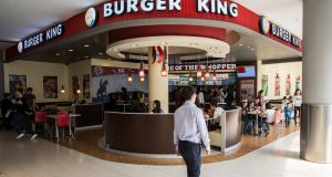 Burger King, the fast food restaurant, is adding about two or three restaurants a day globally. Photograph: Taylor Weidman/Bloomberg