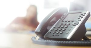 Fórsa said its members would not be making or taking phone calls, video conferencing or responding to or forwarding emails. Photograph: iStock