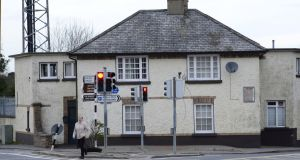 The former Garda station in Stepaside which is set to be re-furbished.  Photograph: Cyril Byrne