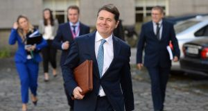 Minister for Finance Paschal Donohoe: What has he really done for single employees?  Photograph: Dara Mac Donaill