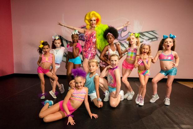 Justin Johnson (AKA Alyssa Edwards) goes on a solo run with his own dance school
