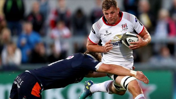 Jordi Murphy could return for Ulster against Leicester Tigers. Photograph: Bryan Keane/Inpho