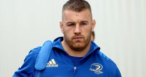 Leinster's Sean O'Brien will start on the bench against Wasps. Photograph: James Crombie/Inpho