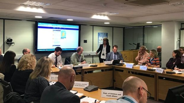 The National Emergency Co-ordination Group meets on Thursday. Photograph: Department of Housing/Twitter