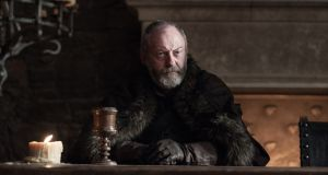 Liam Cunningham as Davos Seaworth in HBO's 'Game of Thrones'. Post-production work by Dublin-based Screen Scene qualified for Section 481 tax relief.