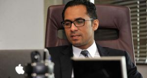 A file picture taken on April 23rd, 2015, shows Tanzanian businessman Mohammed Dewji at his office in Dar es Salaam. Photograph: Khalfan Said Hassan/AFP/Getty Images