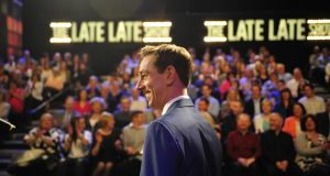 Ryan Tubridy presents 'a celebration of the Irish in Britain and their contribution to their adopted country'. Photograph: Aidan Crawley