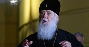 Patriarch Filaret has called for Ukraine's churches to unite and choose one leader. Photograph: Genya Savilov/AFP