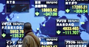 Major indices bounced off their lows in Europe and across Asia and futures trading pointed to gains on Wall Street.