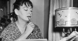 Dorothy Parker sharpening her hatchet. Photograph: New York Times/Getty