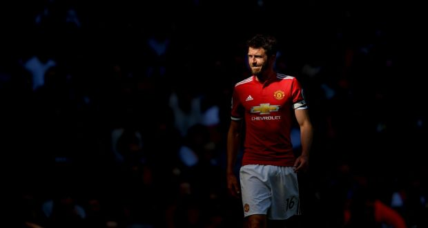 10c6b83f0 Michael Carrick of Manchester United in action during his final Premier  League game for the club